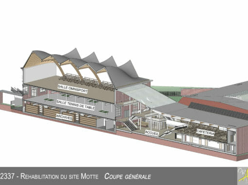 Réhabilitation du site industriel «La Motte»