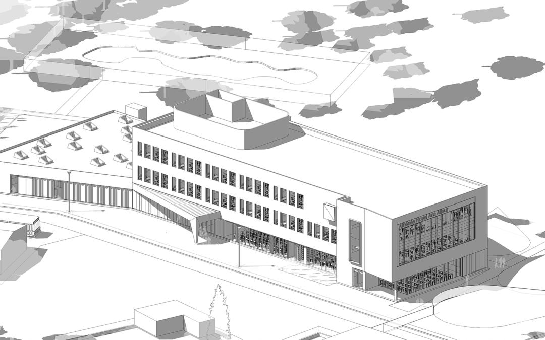 Construction d'une école : Athénée Royal d'Ans
