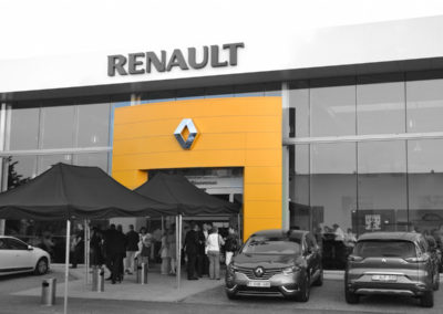 Construction concession Renault